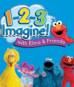 1-2-3 Imagain with Elmo
